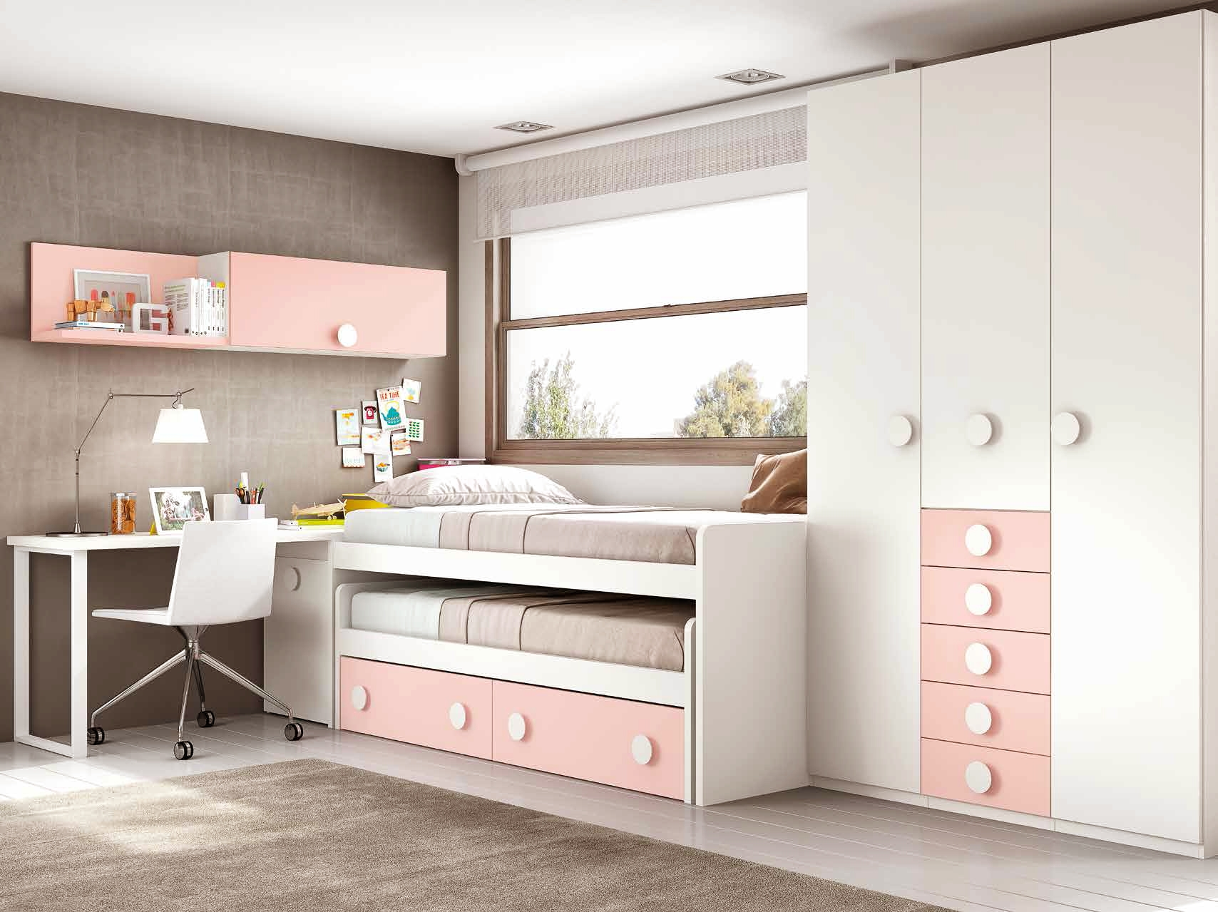 chambre fille ado avec un lit pratique fun glicerio so nuit. Black Bedroom Furniture Sets. Home Design Ideas