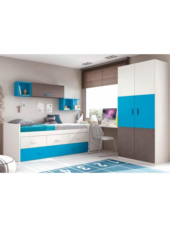 lit gigogne et jumeaux pour la chambre ado prix fun so nuit. Black Bedroom Furniture Sets. Home Design Ideas