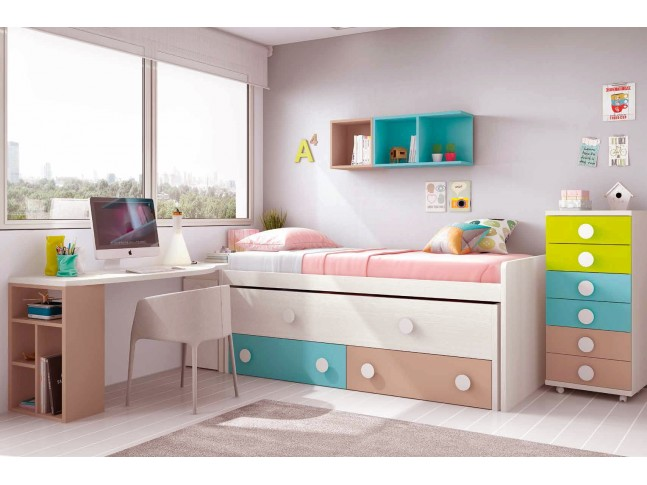 lit gigogne collection chambre enfant prix c lin so nuit. Black Bedroom Furniture Sets. Home Design Ideas