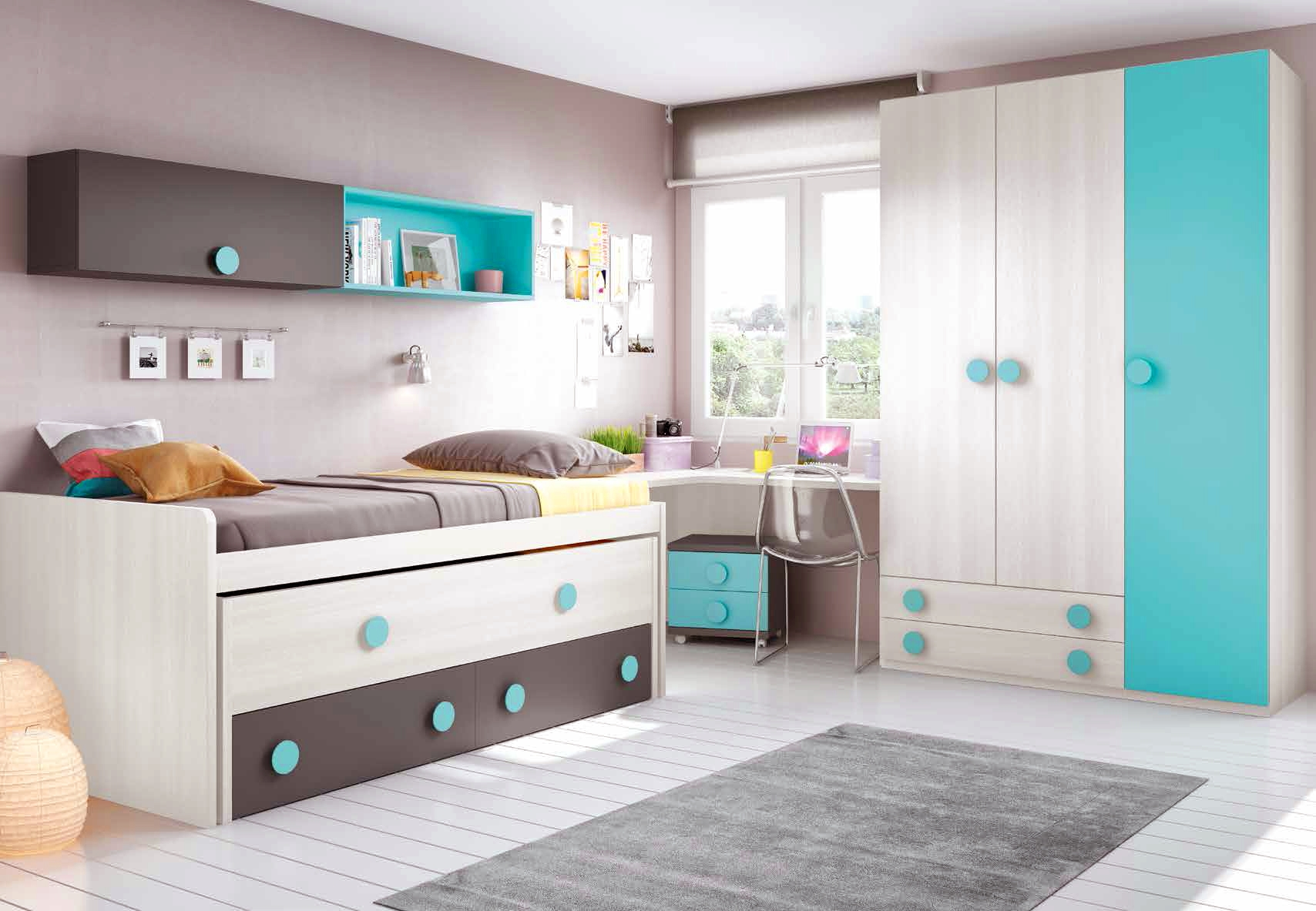 chambre moderne ado complete design et color e glicerio so nuit. Black Bedroom Furniture Sets. Home Design Ideas
