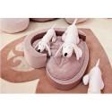 """Lit pour chien """"Coeur"""" beige rosé - DOLFI"""