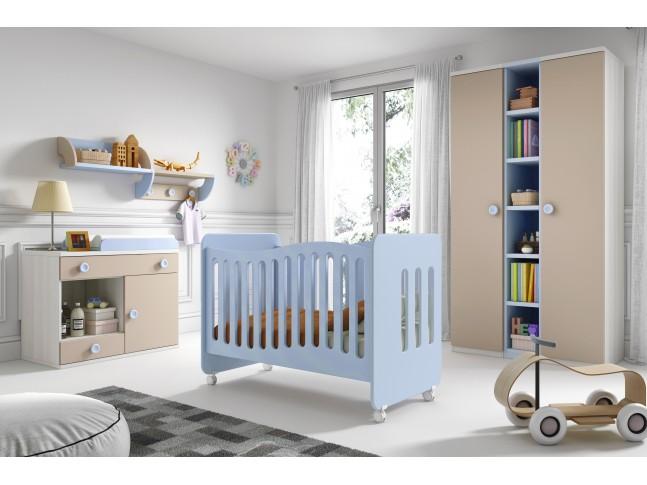 Chambre bébé complète Gioco n°4 - GLICERIO