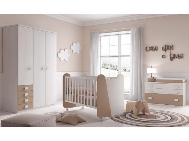 Chambre b b compl te modulable prix so doux so nuit for Bebe 9 chambre jules
