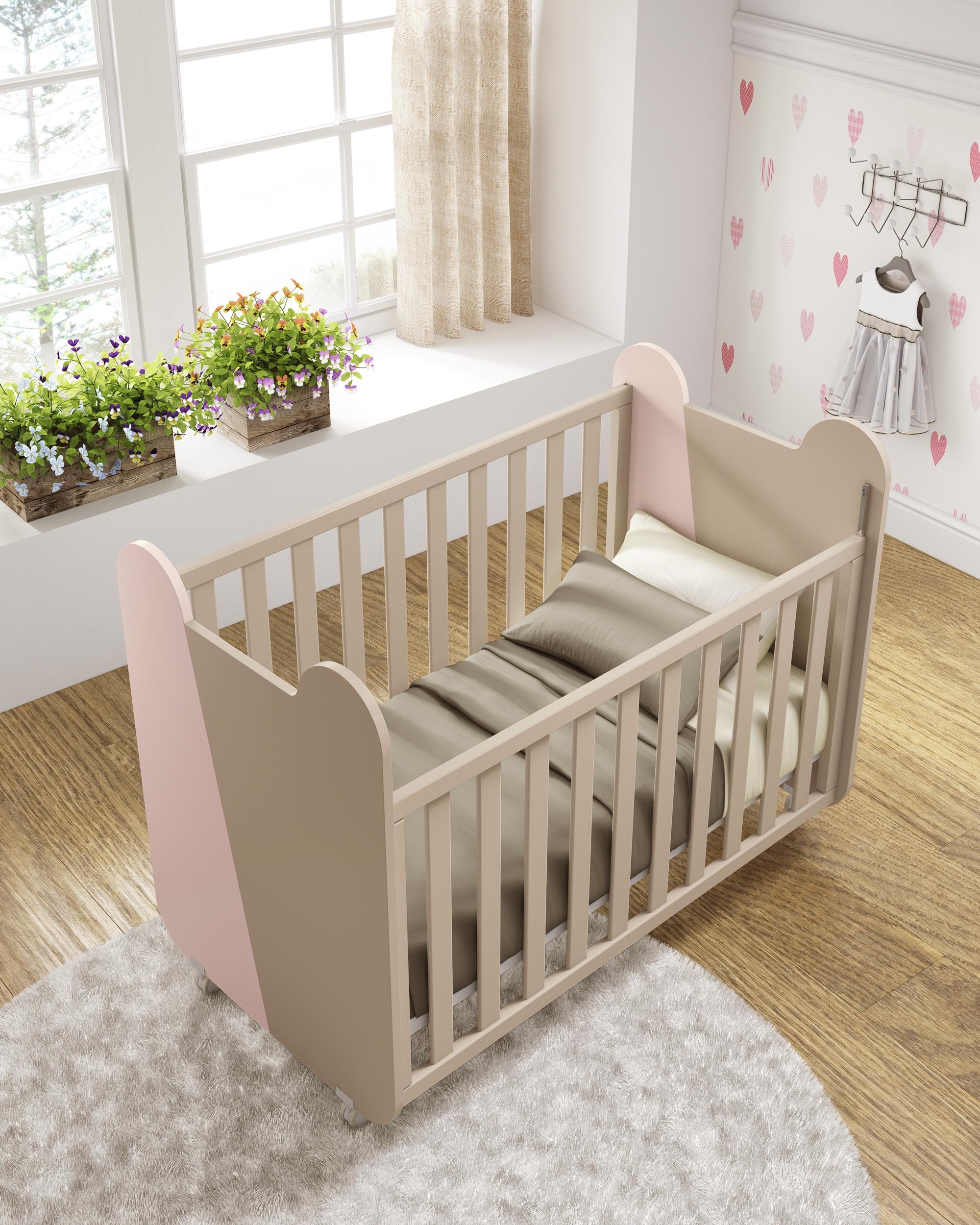 Chambre pl¨te bébé Miki avec lit mode GLICERIO SO NUIT