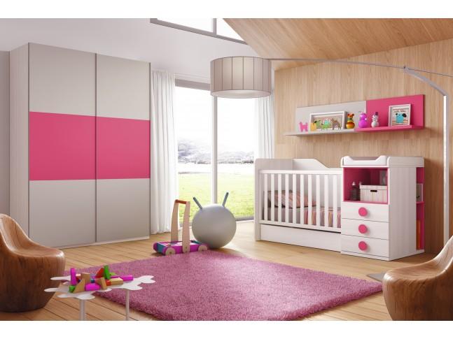 Chambre évolutive bébé Star  - GLICERIO
