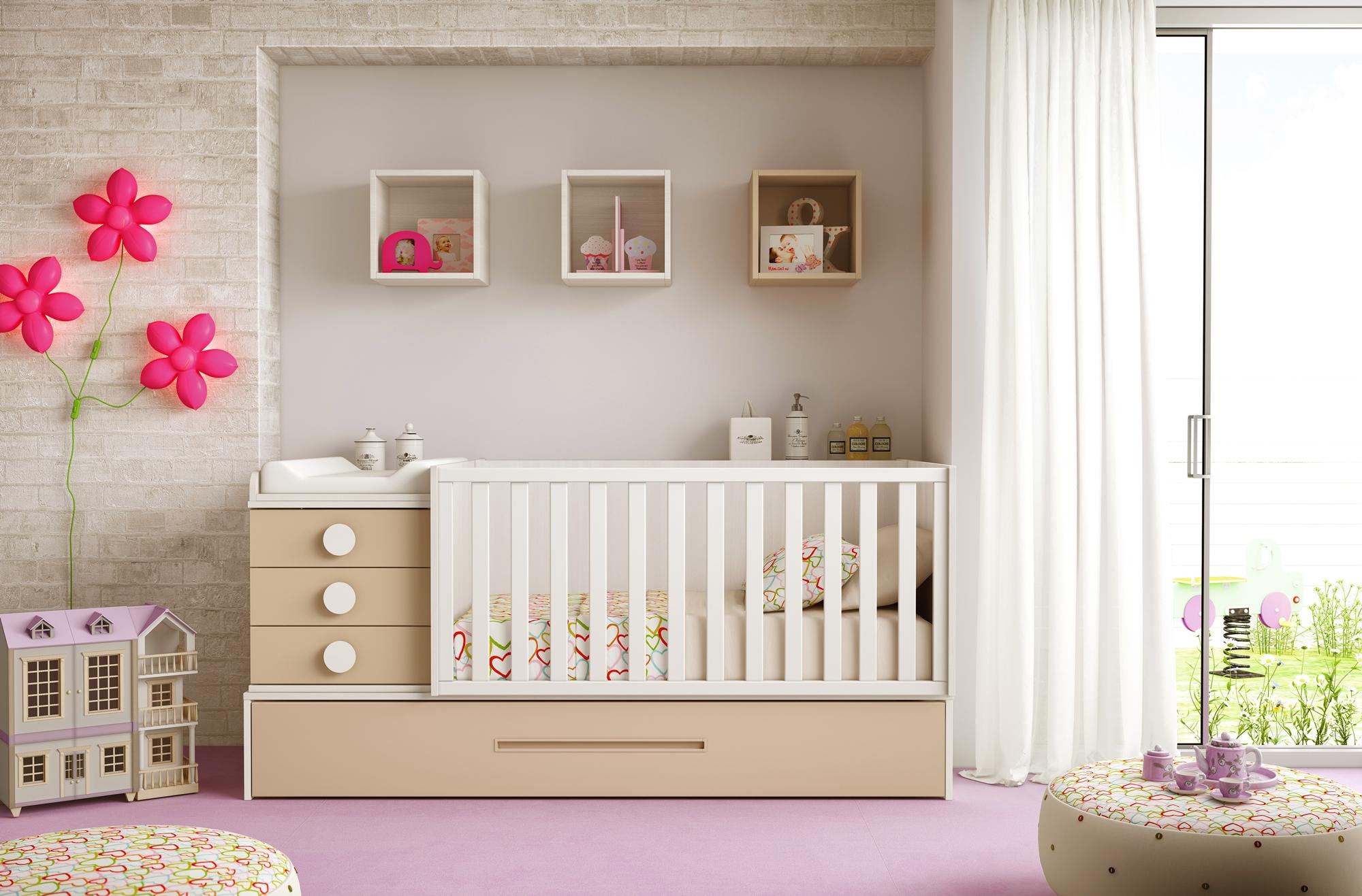 Lit pour b b lc19 pour la chambre b b volutive for Chambre pour bebe