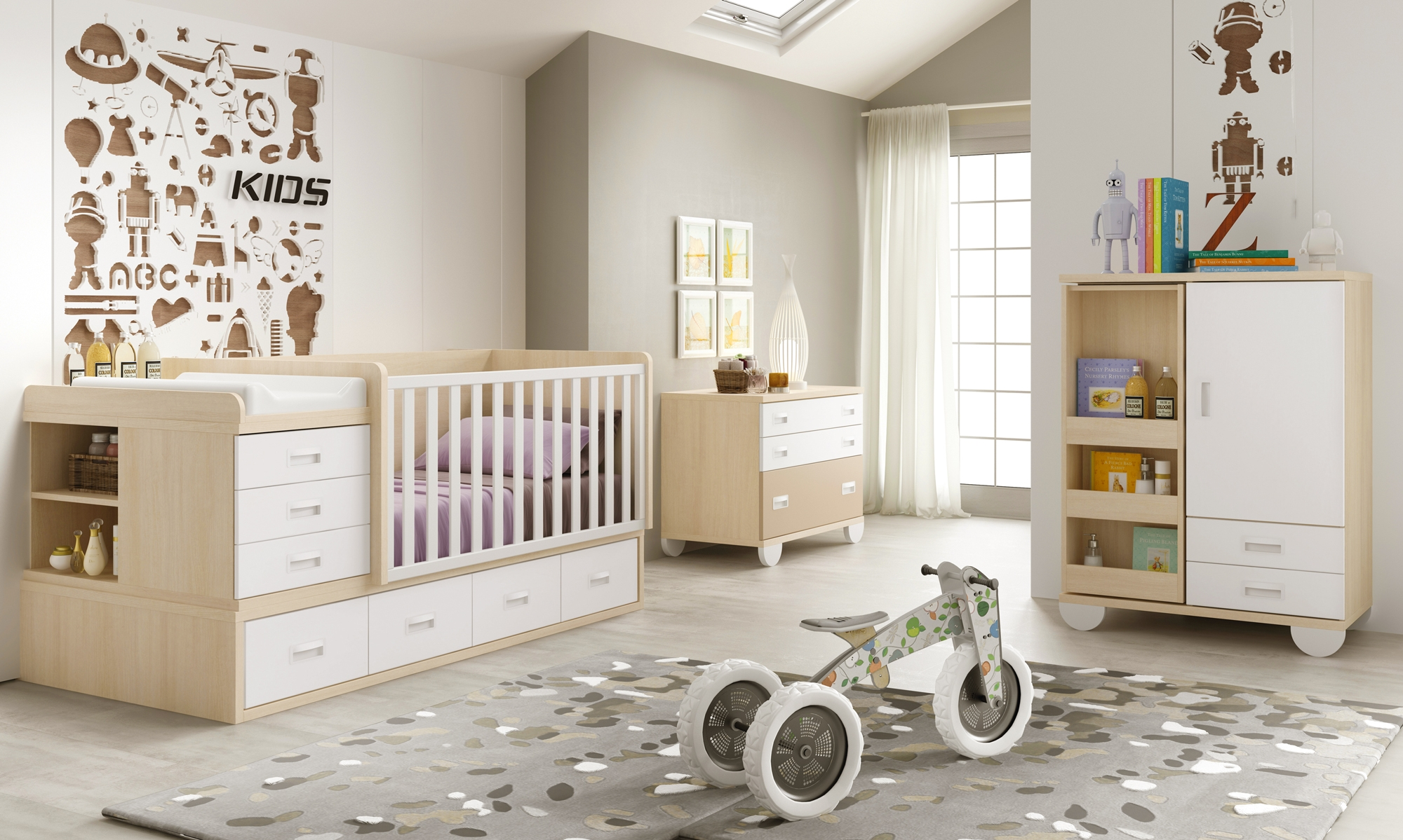 chambre bebe evolutif ikea avec des id es int ressantes pour la conception de la. Black Bedroom Furniture Sets. Home Design Ideas