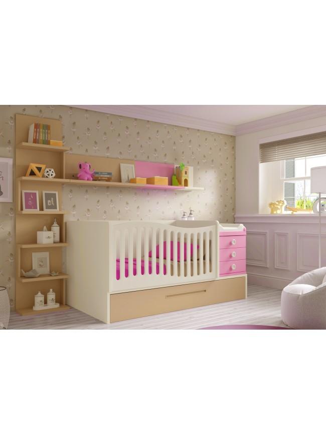 chambre b b compl te modulable prix so doux so nuit. Black Bedroom Furniture Sets. Home Design Ideas