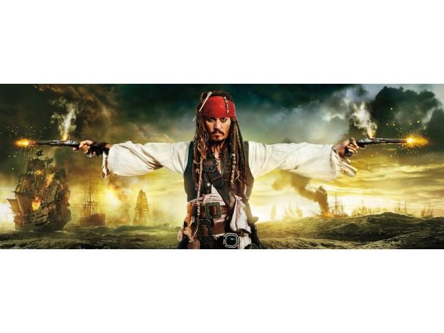 Poster mural Pirates et pistolets - Panoramique Disney - KOMAR