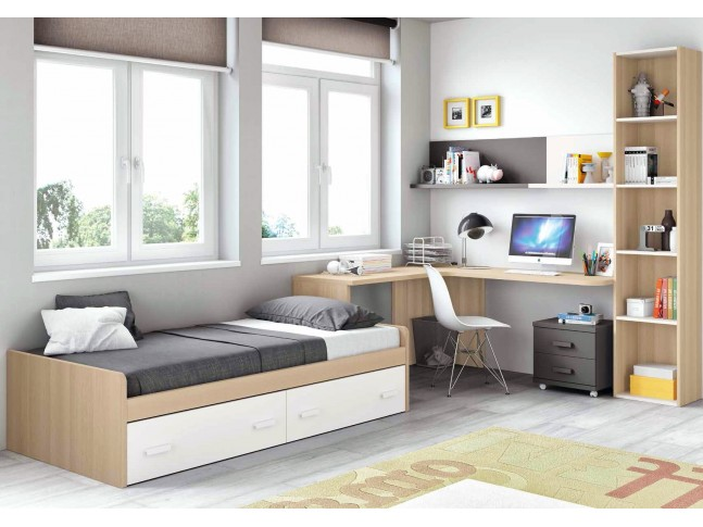 Chambre complete pour ado collection prix fun so nuit for Chambre a coucher 2 places