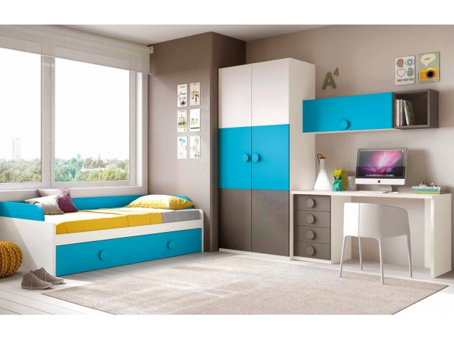 lit gigogne et jumeaux pour la chambre ado prix fun so. Black Bedroom Furniture Sets. Home Design Ideas