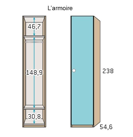 chambre pour ado ultra compacte avec lit gigogne