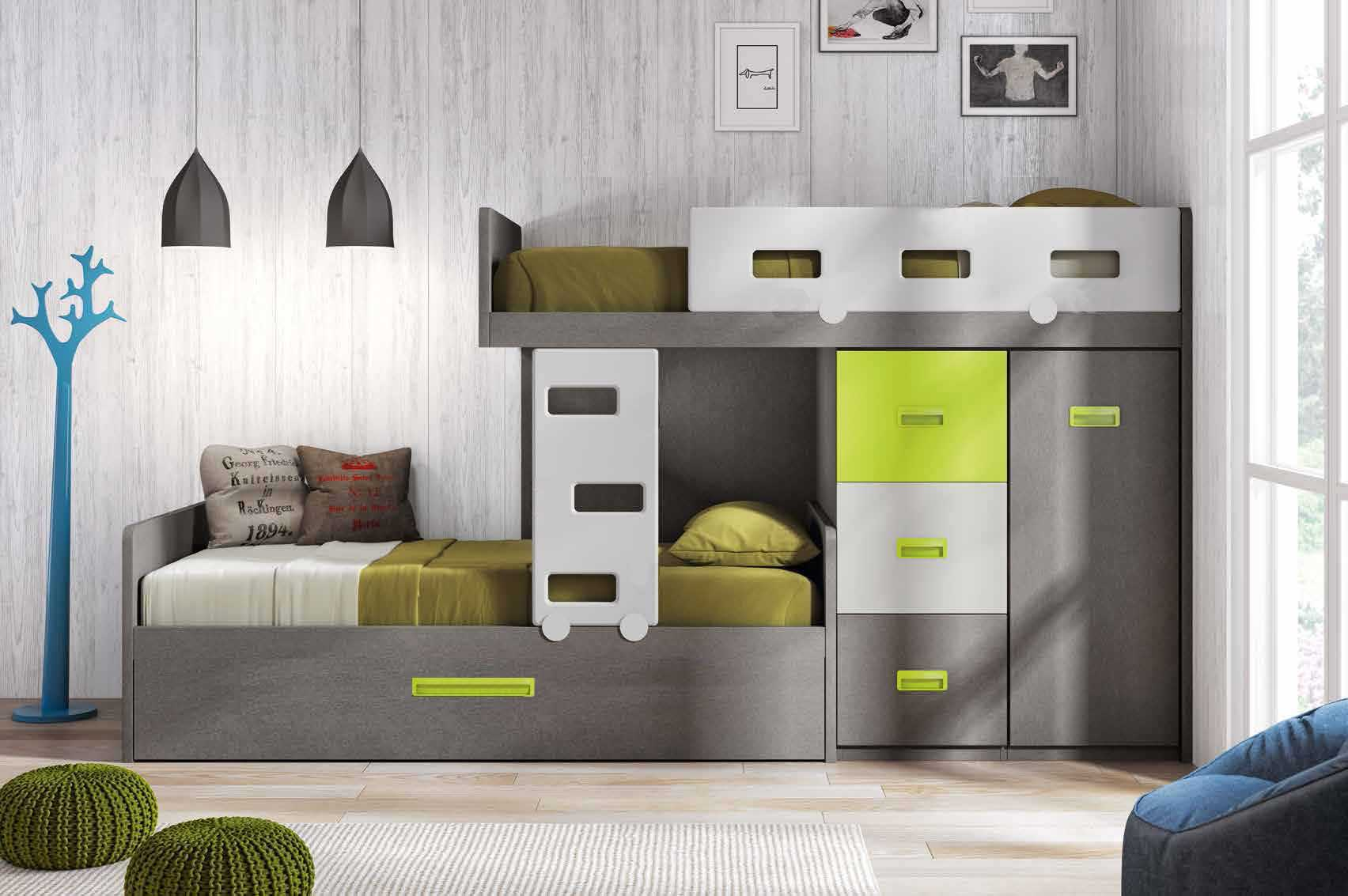 lit superpos d cal fun et personnalisable glicerio. Black Bedroom Furniture Sets. Home Design Ideas