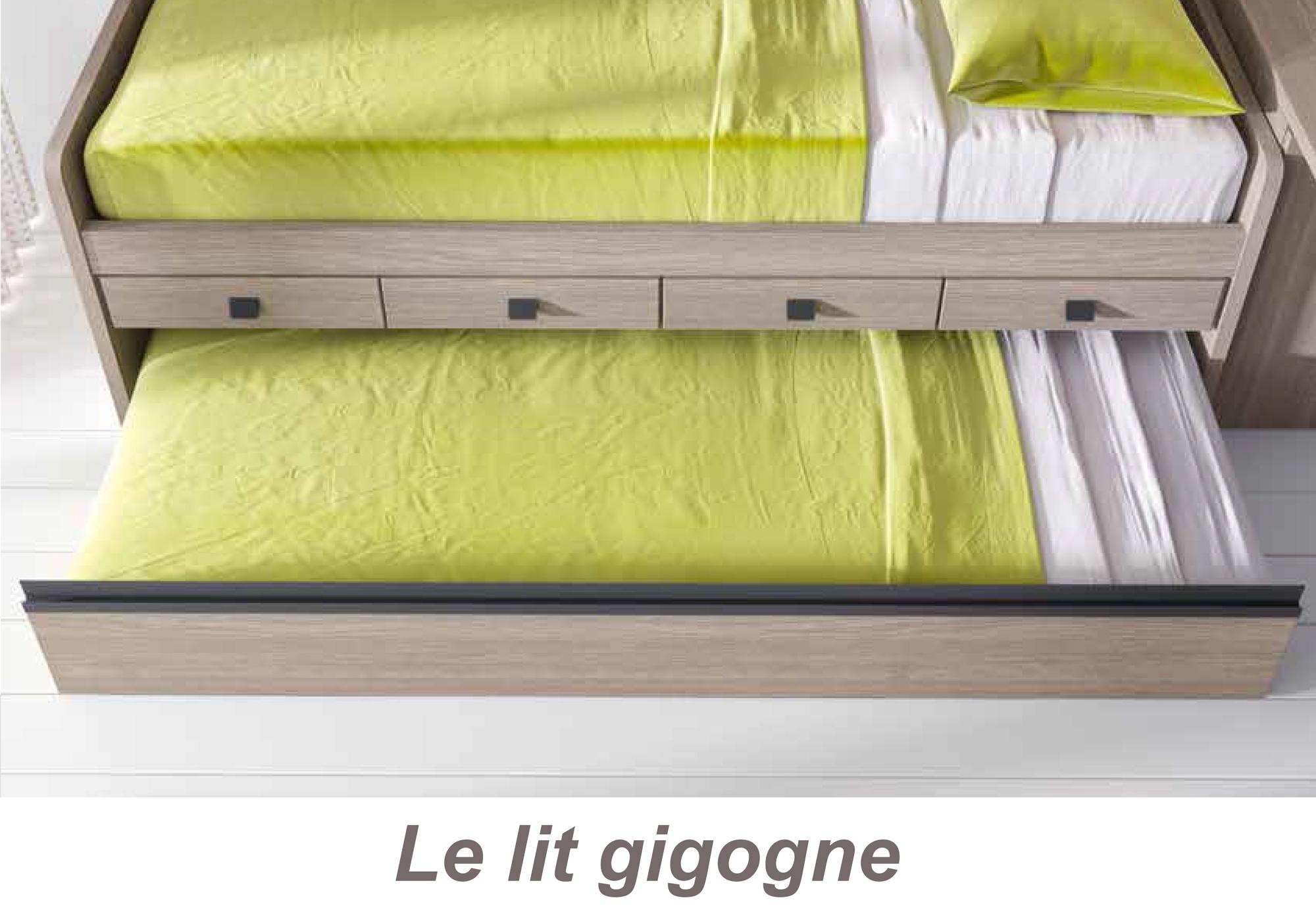 lit superpos d cal fun et personnalisable glicerio so nuit. Black Bedroom Furniture Sets. Home Design Ideas