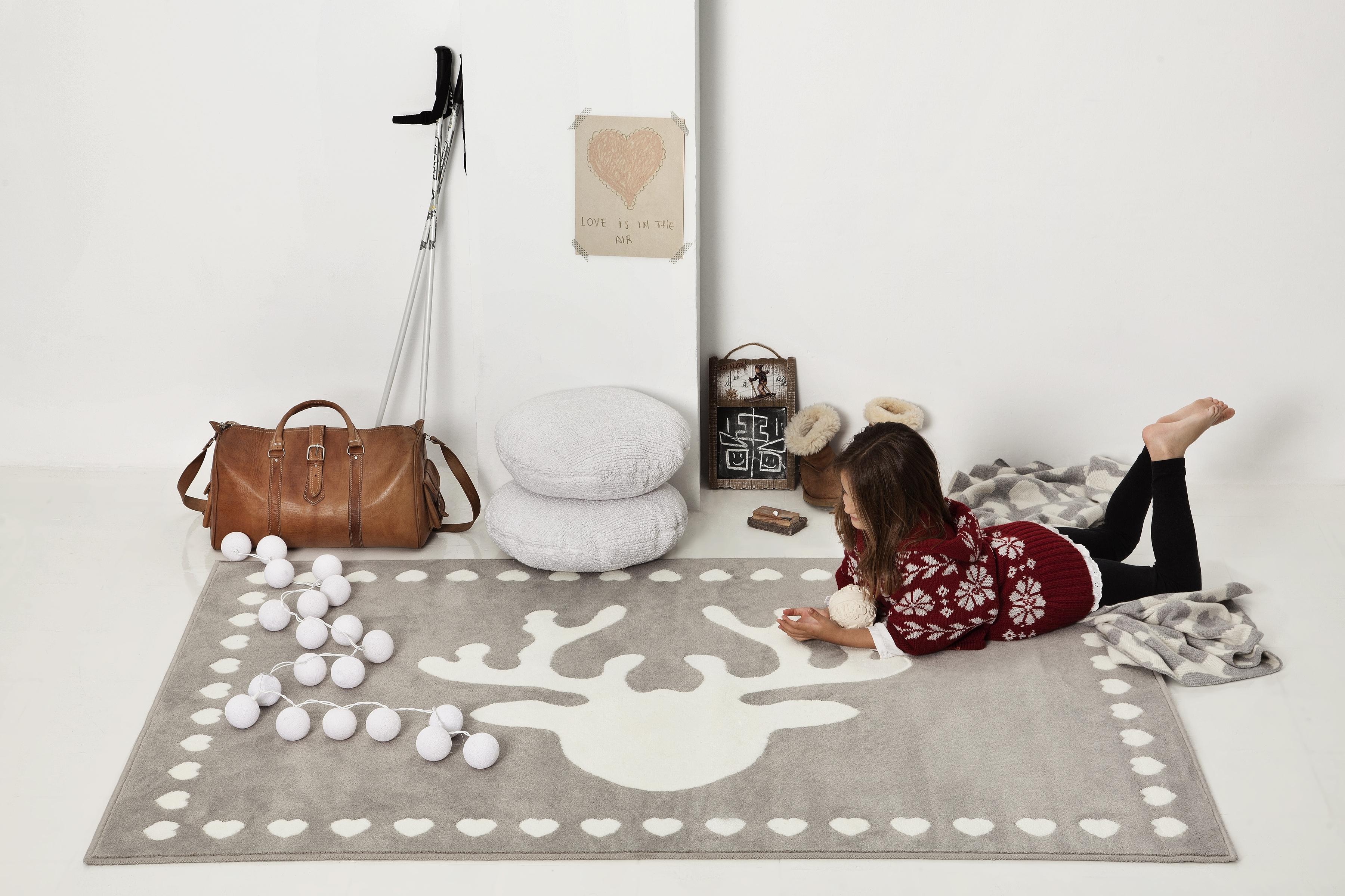 Tapis enfant RENNE en acrylique 140x200cm - LORENA CANALS