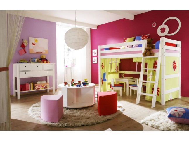 lit mezzanine id al pour chambre enfant prix fun so nuit. Black Bedroom Furniture Sets. Home Design Ideas