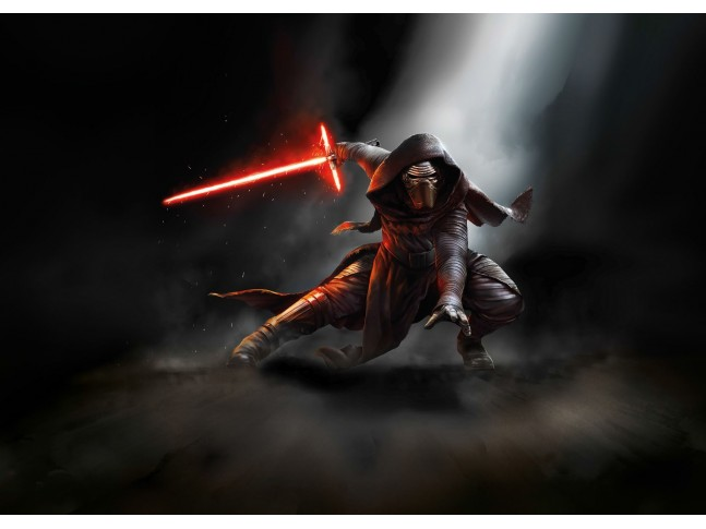 Poster XXL Star Wars Kylo Ren - Panoramique - KOMAR