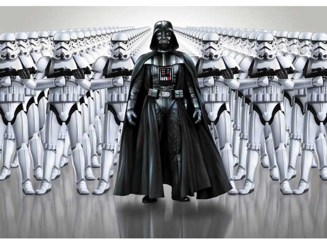 Poster XXL Star Wars Force Impériale - Panoramique - KOMAR