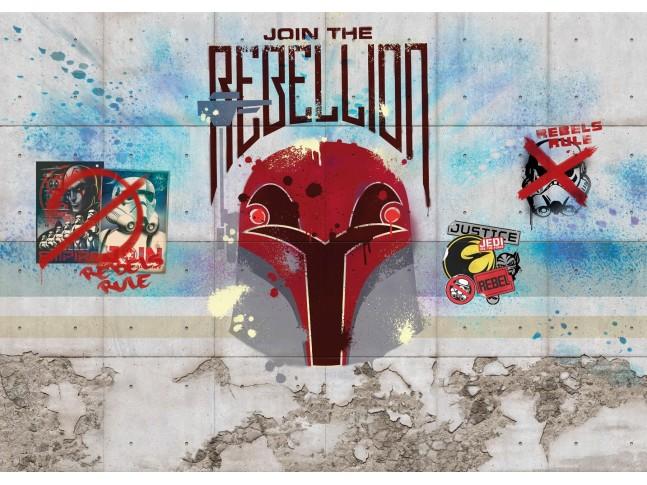 Poster XXL Star Wars Rebels Wall - Panoramique - KOMAR