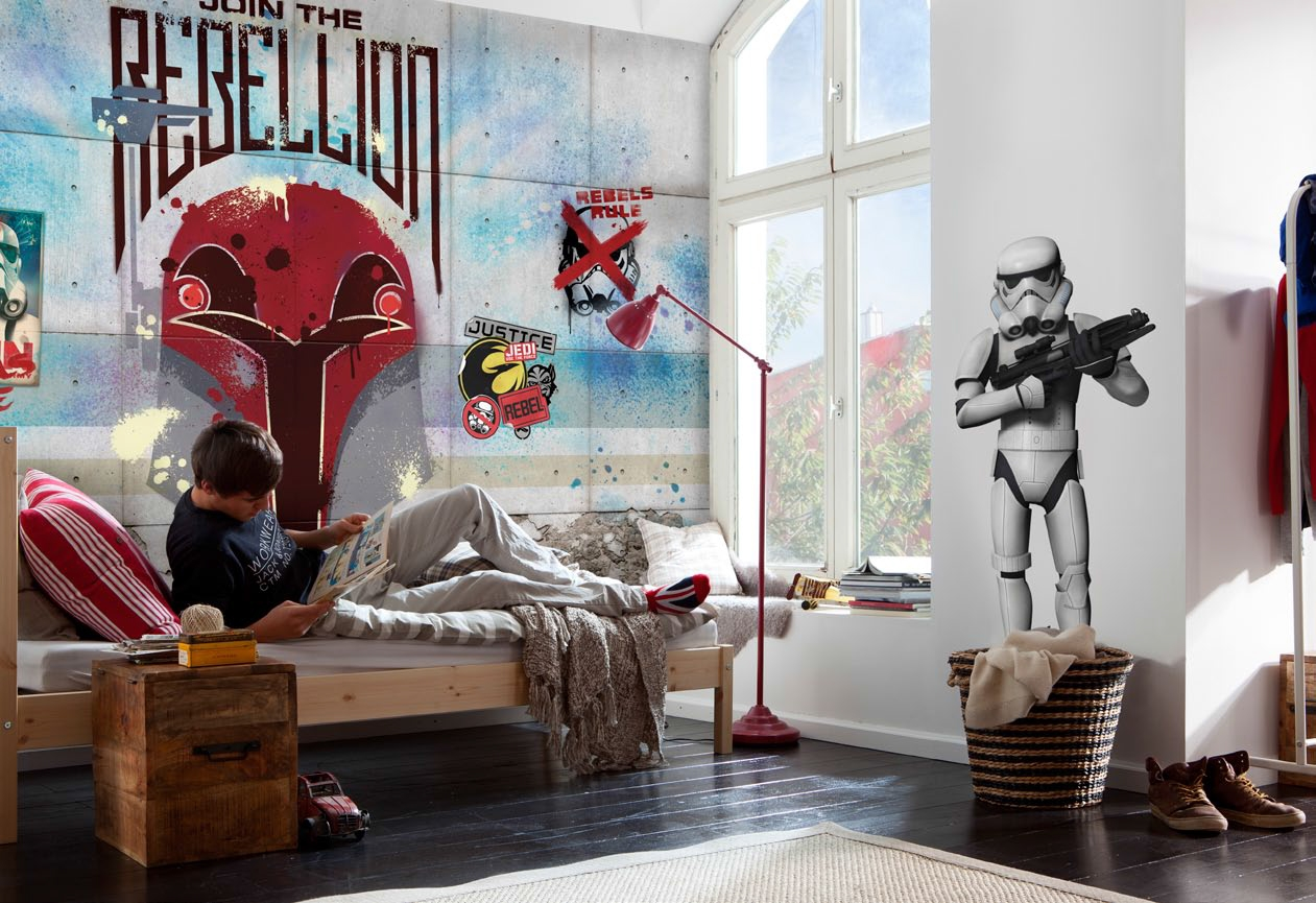 poster xxl star wars rebels wall panoramique komar so nuit. Black Bedroom Furniture Sets. Home Design Ideas