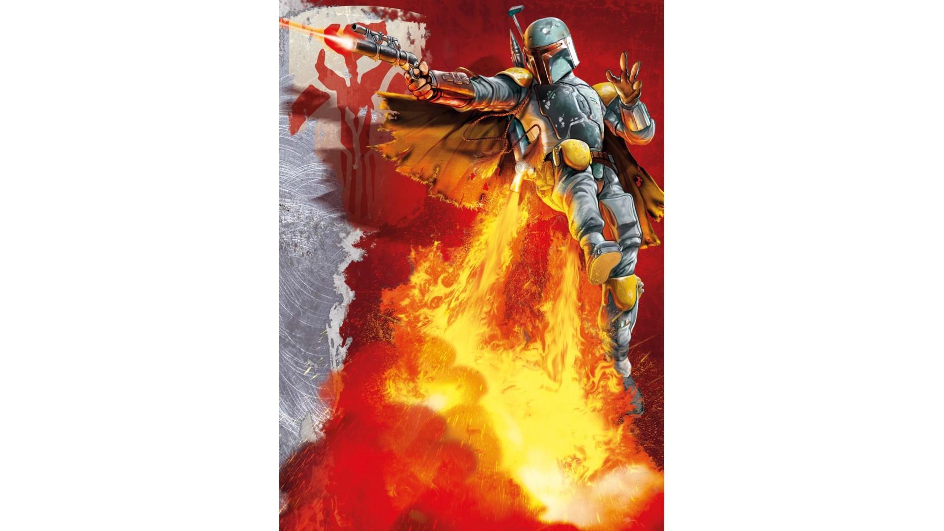 Poster XXL Star Wars Boba Fett - Panoramique - KOMAR