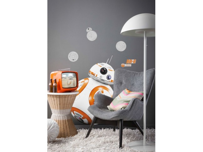 Stickers muraux Star Wars Droide BB-8 - KOMAR