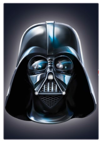 Stickers Muraux Star Wars Dark Vador Disney Komar So Nuit