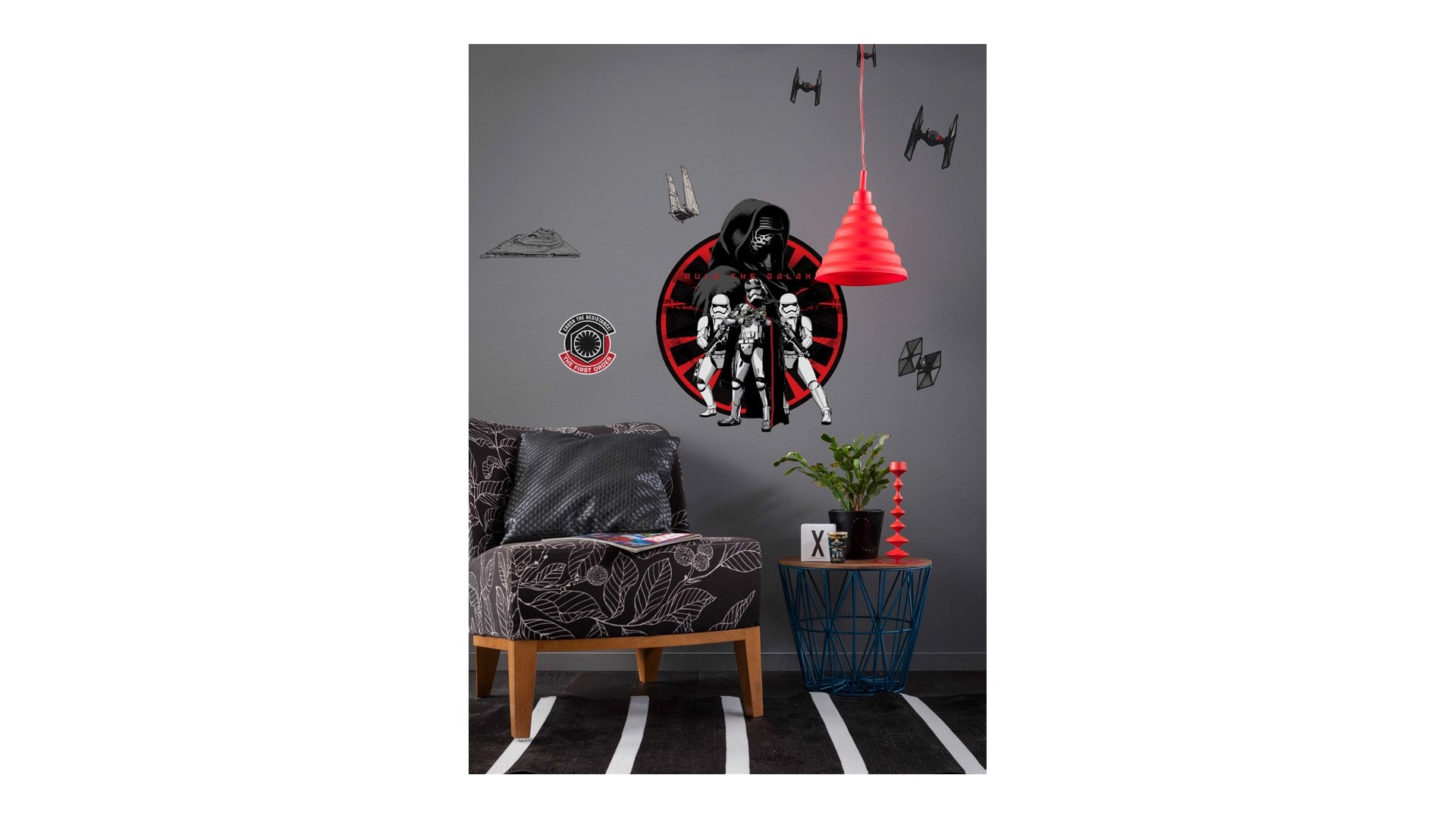 Stickers muraux Star Wars First Order - KOMAR