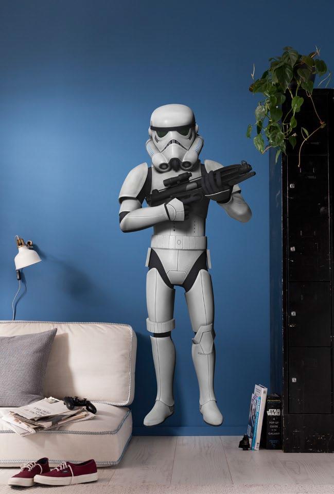 Stickers Muraux Star Wars Stormtrooper Disney Komar So