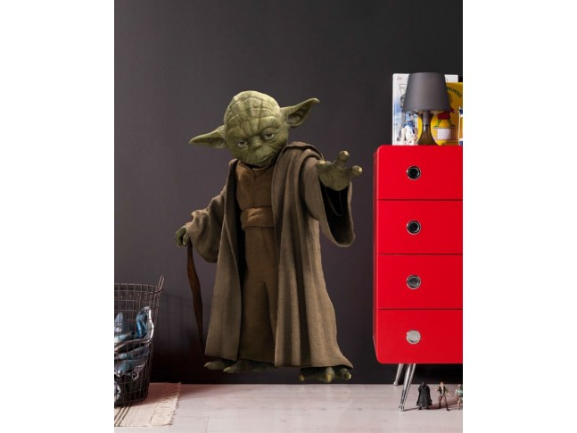 Stickers muraux Star Wars Maitre Yoda - KOMAR