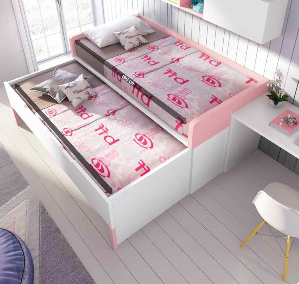 Trendy chambre enfant originale et avec lit gigogne f glicerio with chambre fille originale for Eclairage chambre bebe