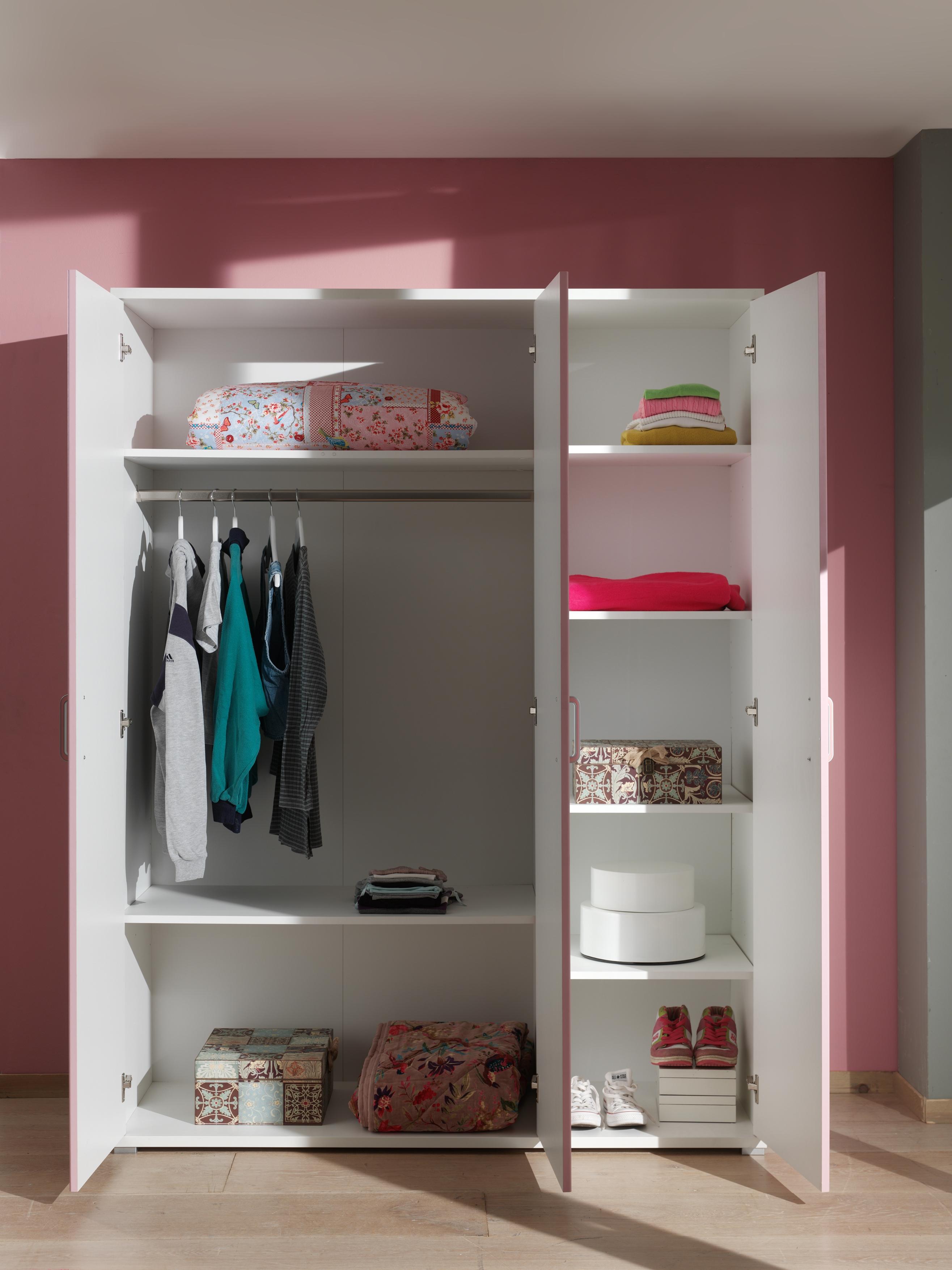 Lit chambre fillette emilie pour un style romantique so nuit for Petite armoire de chambre