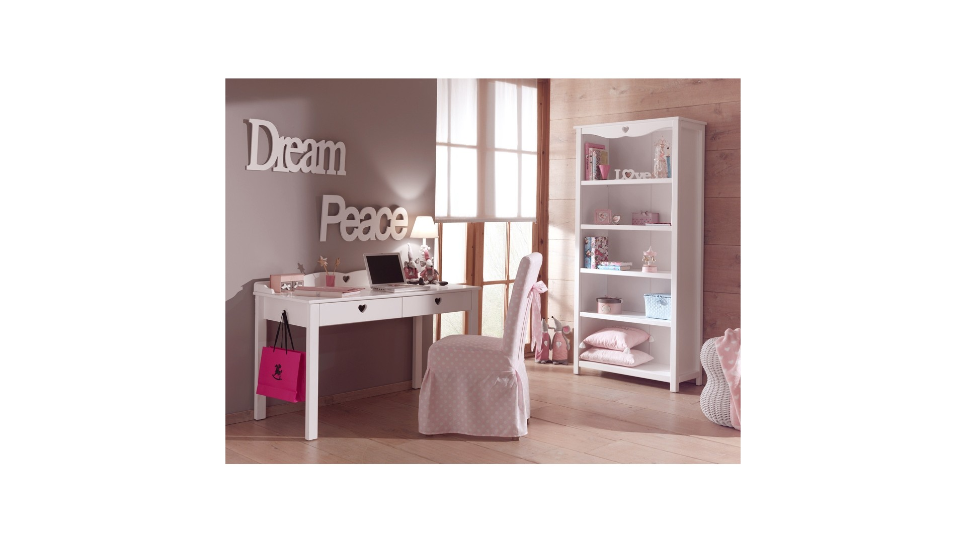 emejing bureau enfant fille gallery. Black Bedroom Furniture Sets. Home Design Ideas