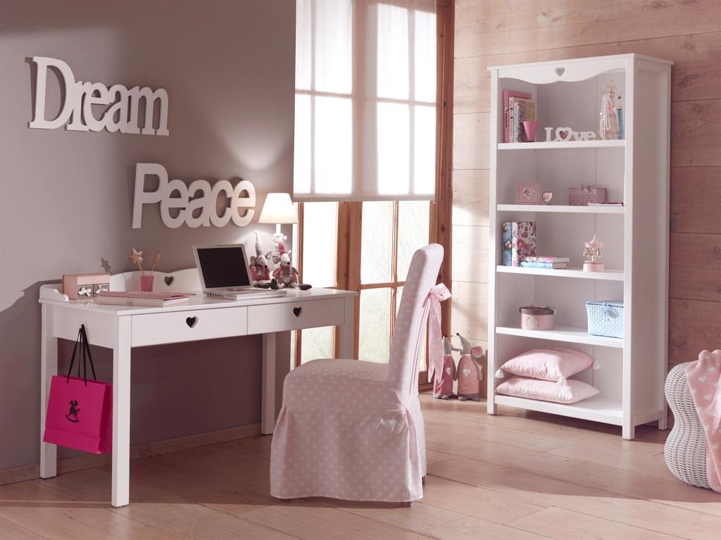 Bureau enfant fille chambre Emile au style So romantique - SO NUIT