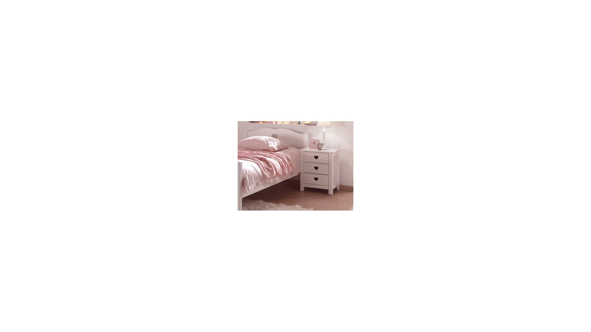 Chevet EMILIE 3 tiroirs - SONUIT