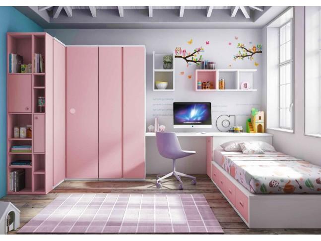 Chambre enfant complete PERSONNALISABLE F155 - GLICERIO