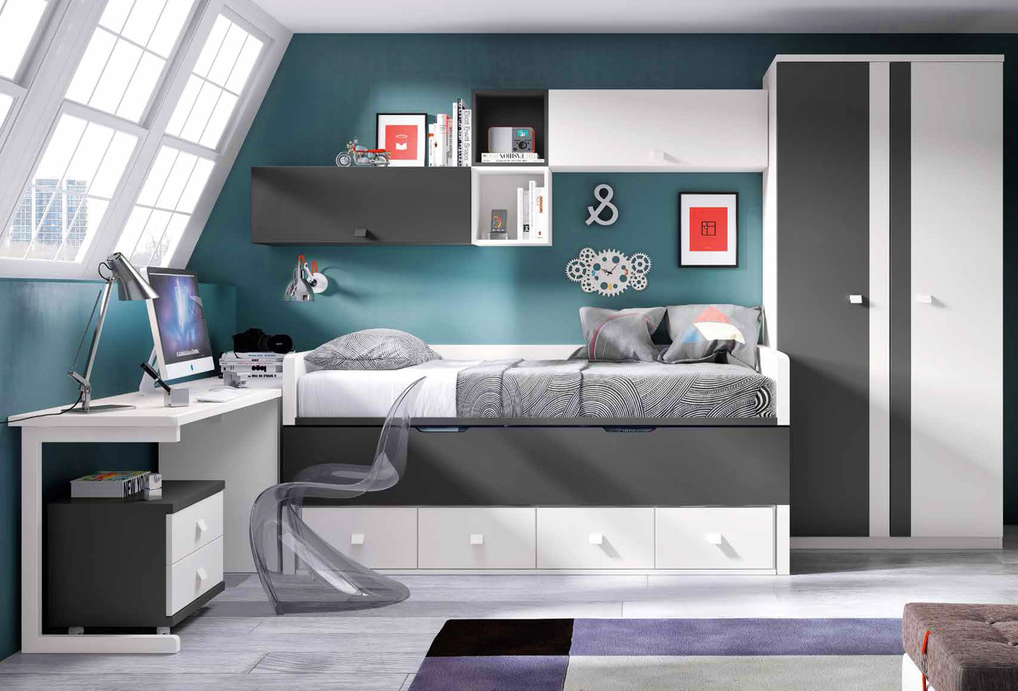 Best chambre moderne garcon ideas design trends 2017 for Chambre moderne design