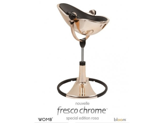 Chaise haute bébé Fresco Rose Gold édition spéciale - BLOOM