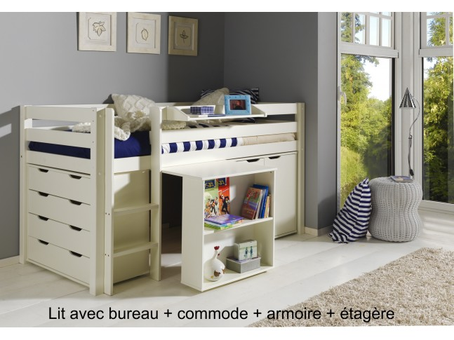 lit sur lev bahia block pour la chambre enfant asoral. Black Bedroom Furniture Sets. Home Design Ideas