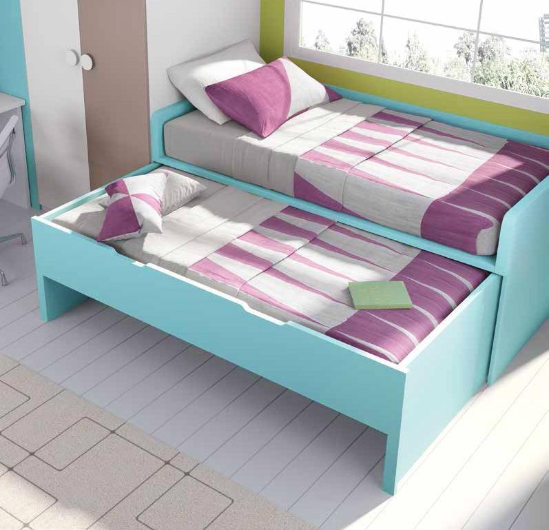 chambre ado lit gigogne. Black Bedroom Furniture Sets. Home Design Ideas