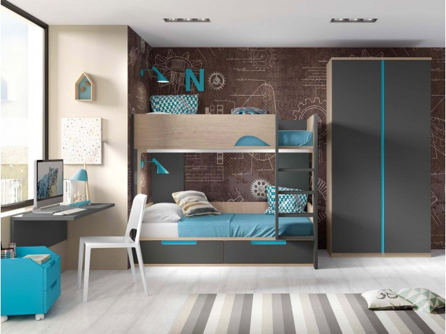 lit superpos lit jumeaux collection prix c lin so nuit. Black Bedroom Furniture Sets. Home Design Ideas