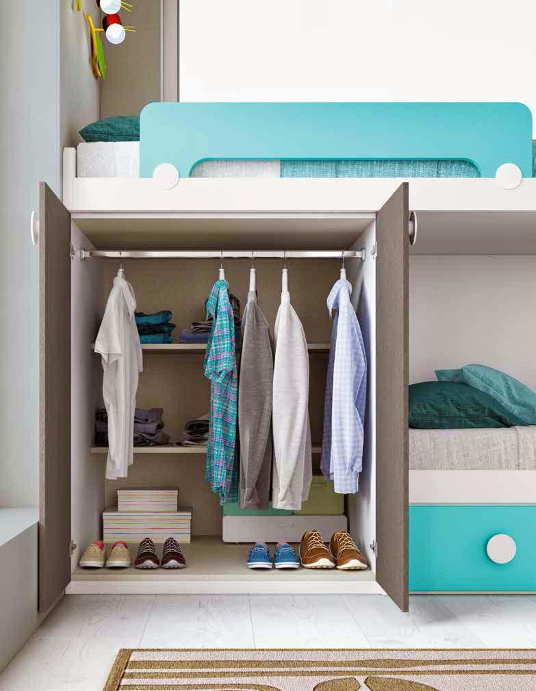 lit superpos enfant avec lit gigogne glicerio so nuit. Black Bedroom Furniture Sets. Home Design Ideas