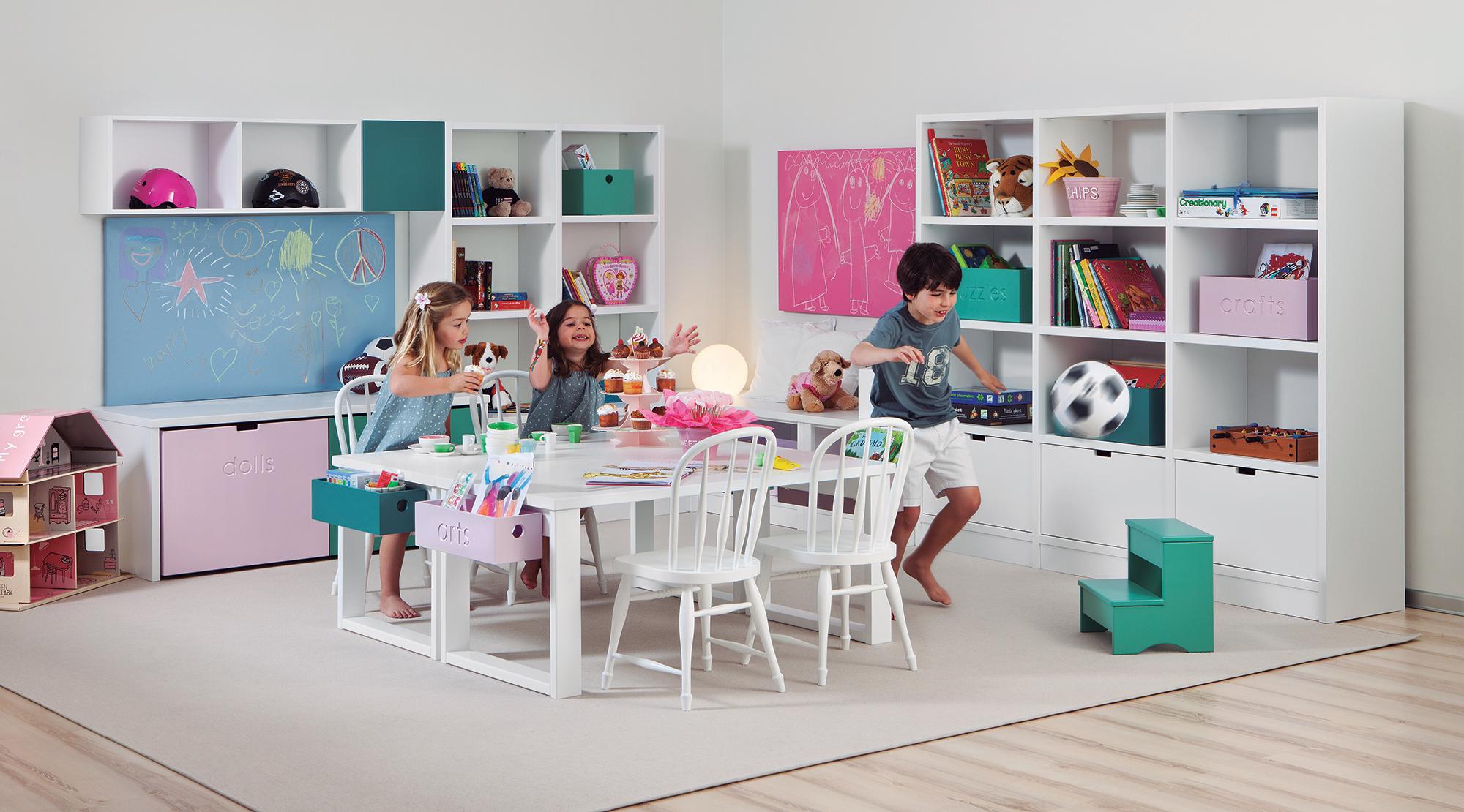 Rangement chambre enfant facile pratique tous les conseils for Muebles asoral