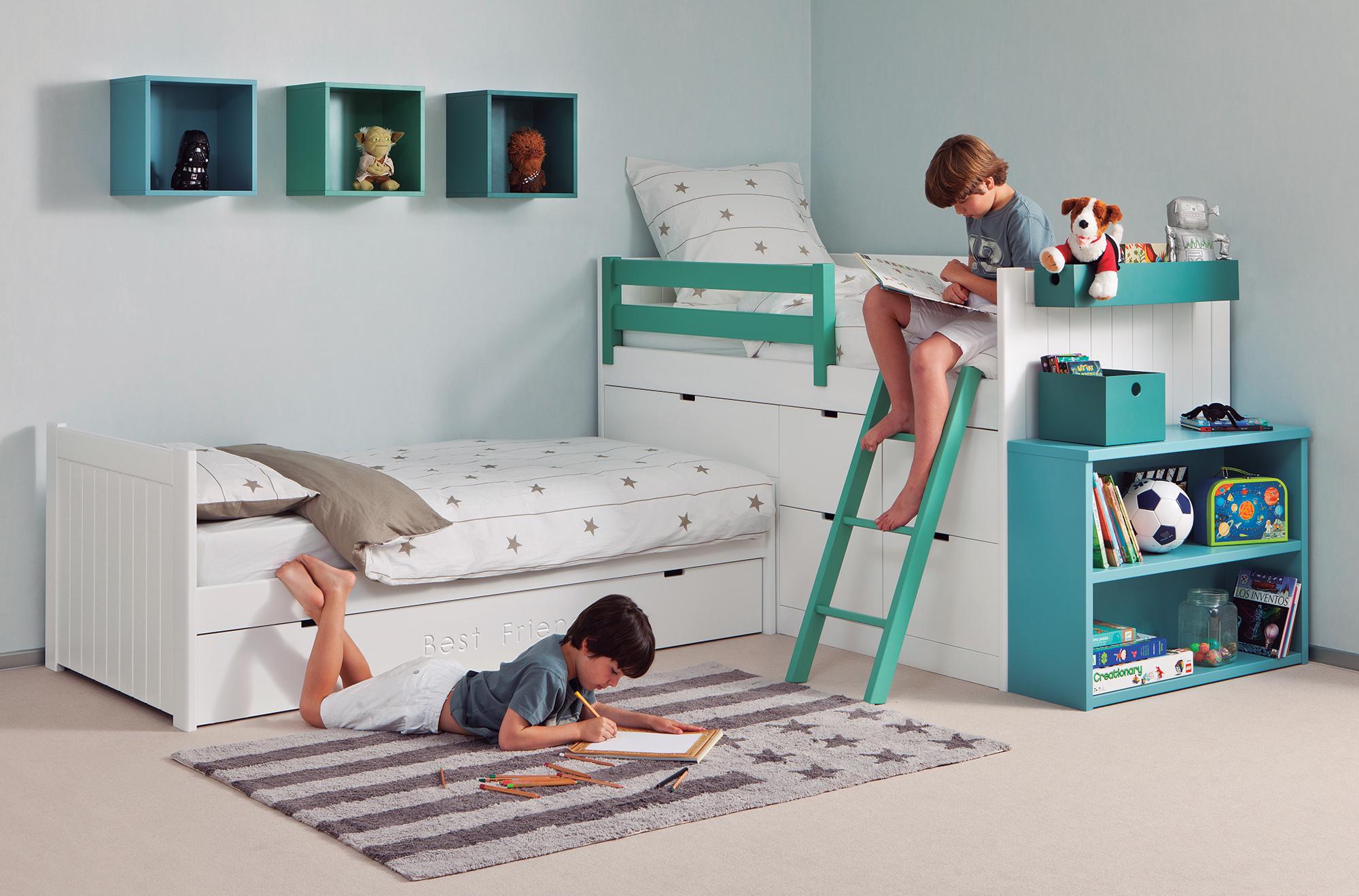 Quel est le meilleur ¢ge pour partager sa chambre d enfant