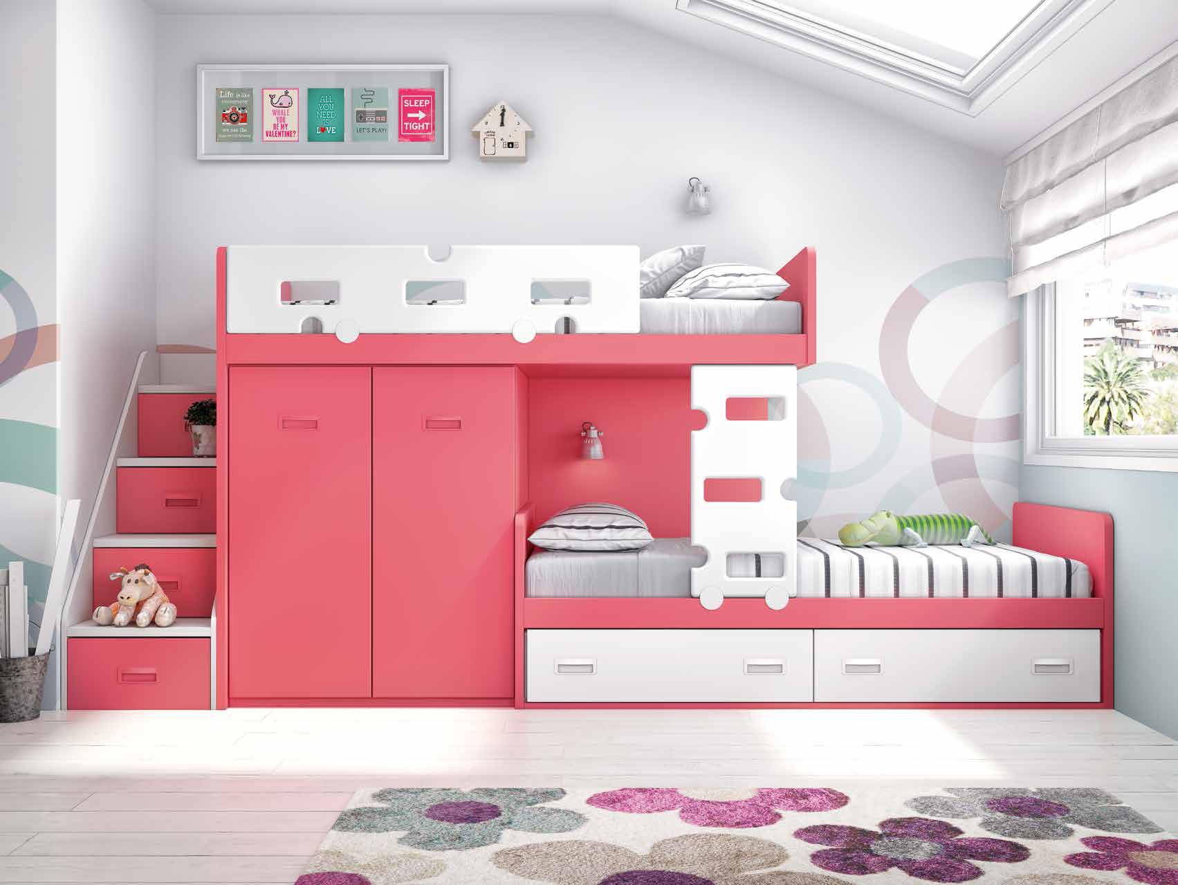 guide pratique pour am nager sa chambre pour 2 enfants. Black Bedroom Furniture Sets. Home Design Ideas