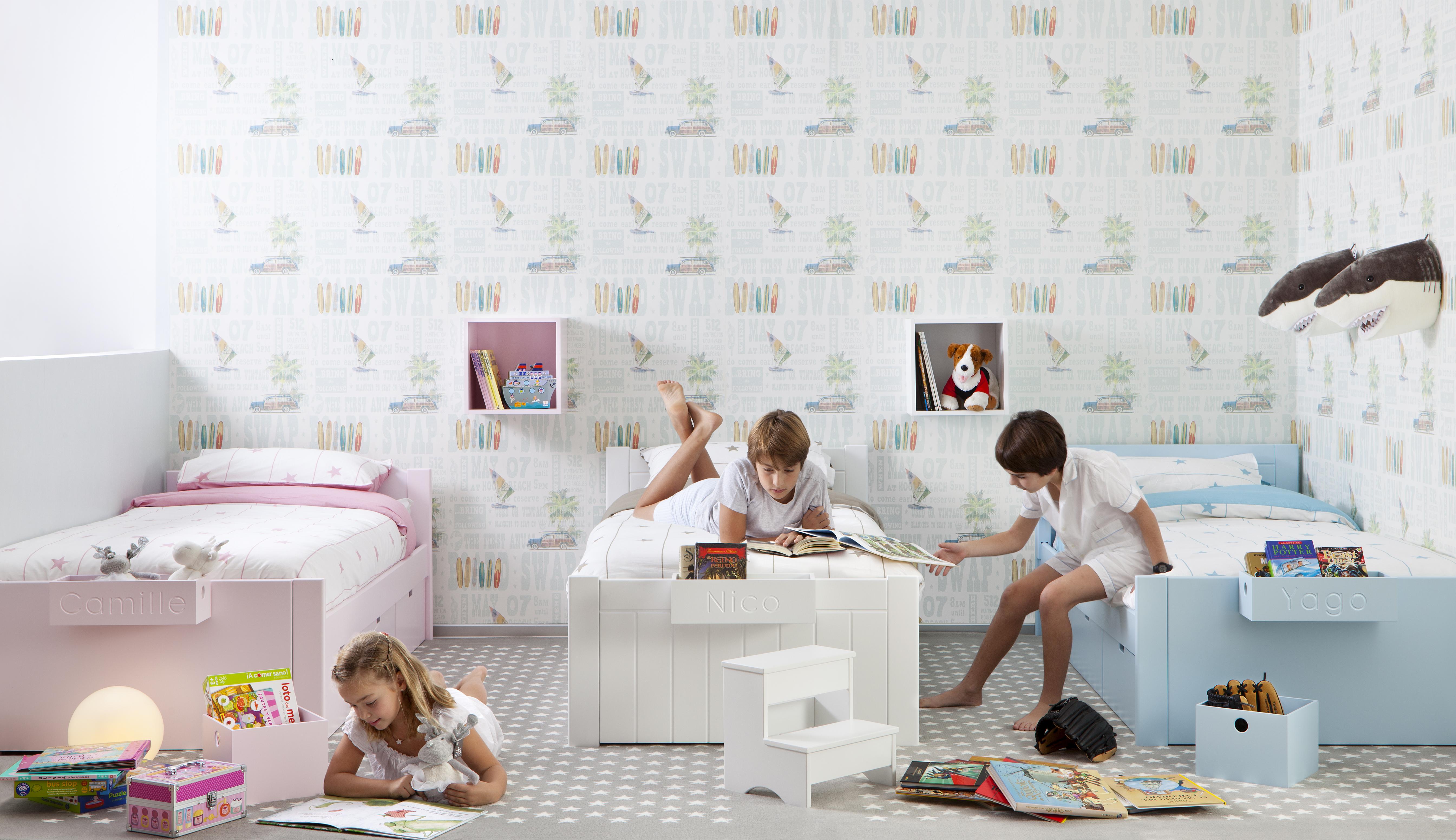 Charmant chambre pour 2 enfants - Amenager sa chambre en ligne ...