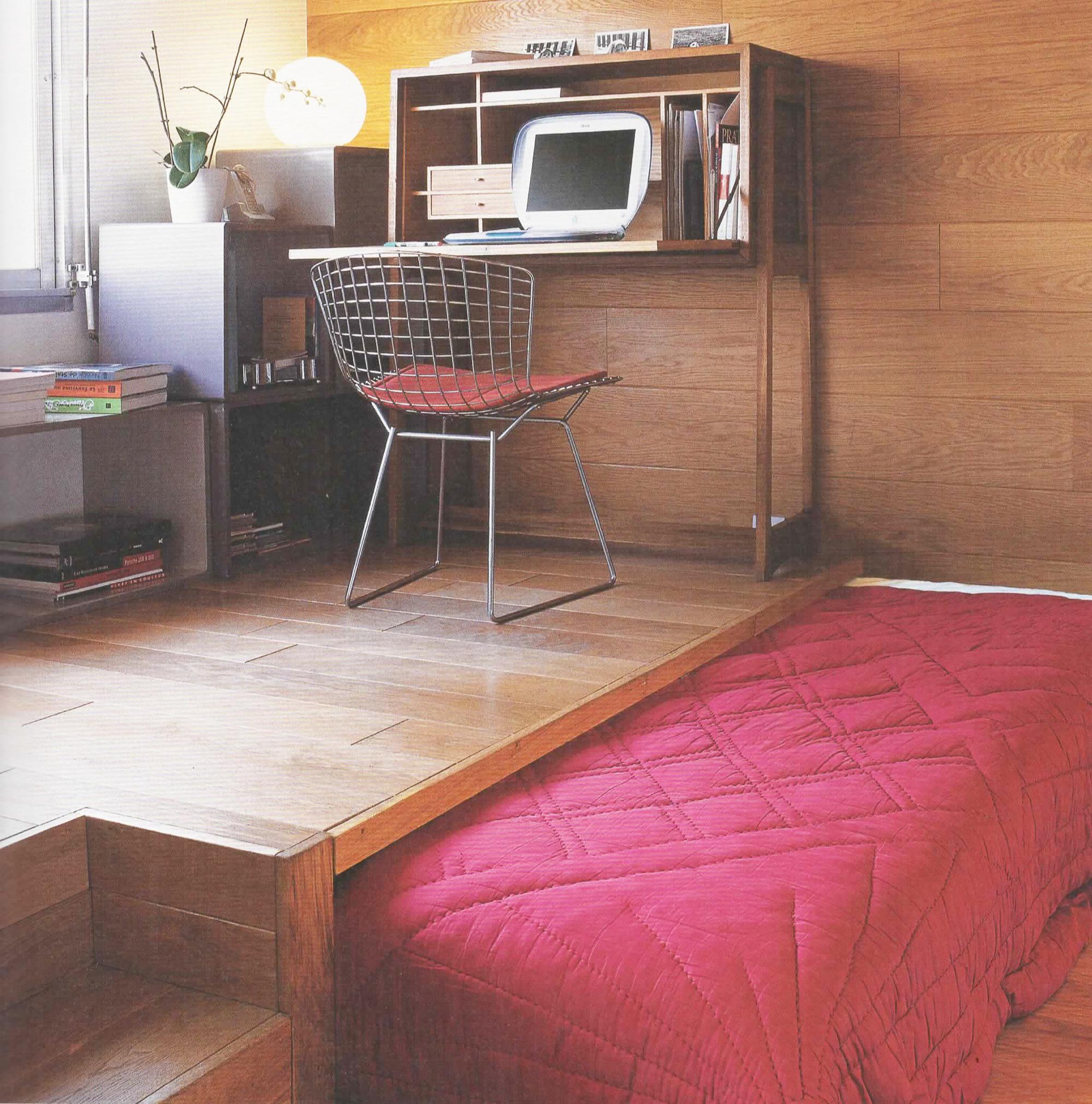 chambre enfant gain de place latest lit pour enfant peu encombrant mezzanine sur plateforme ou. Black Bedroom Furniture Sets. Home Design Ideas