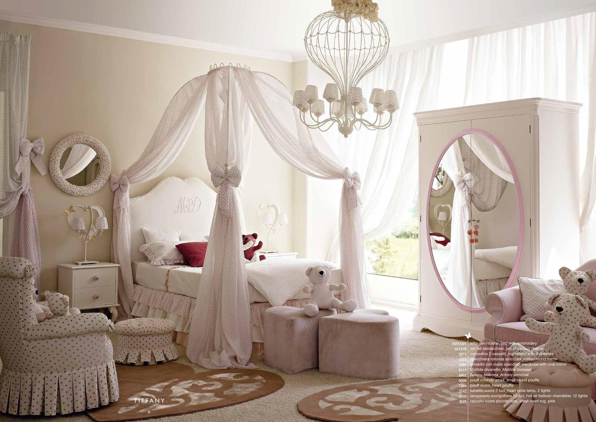Toutes les inspirations pour cr er une deco chambre fille for Decoration romantique