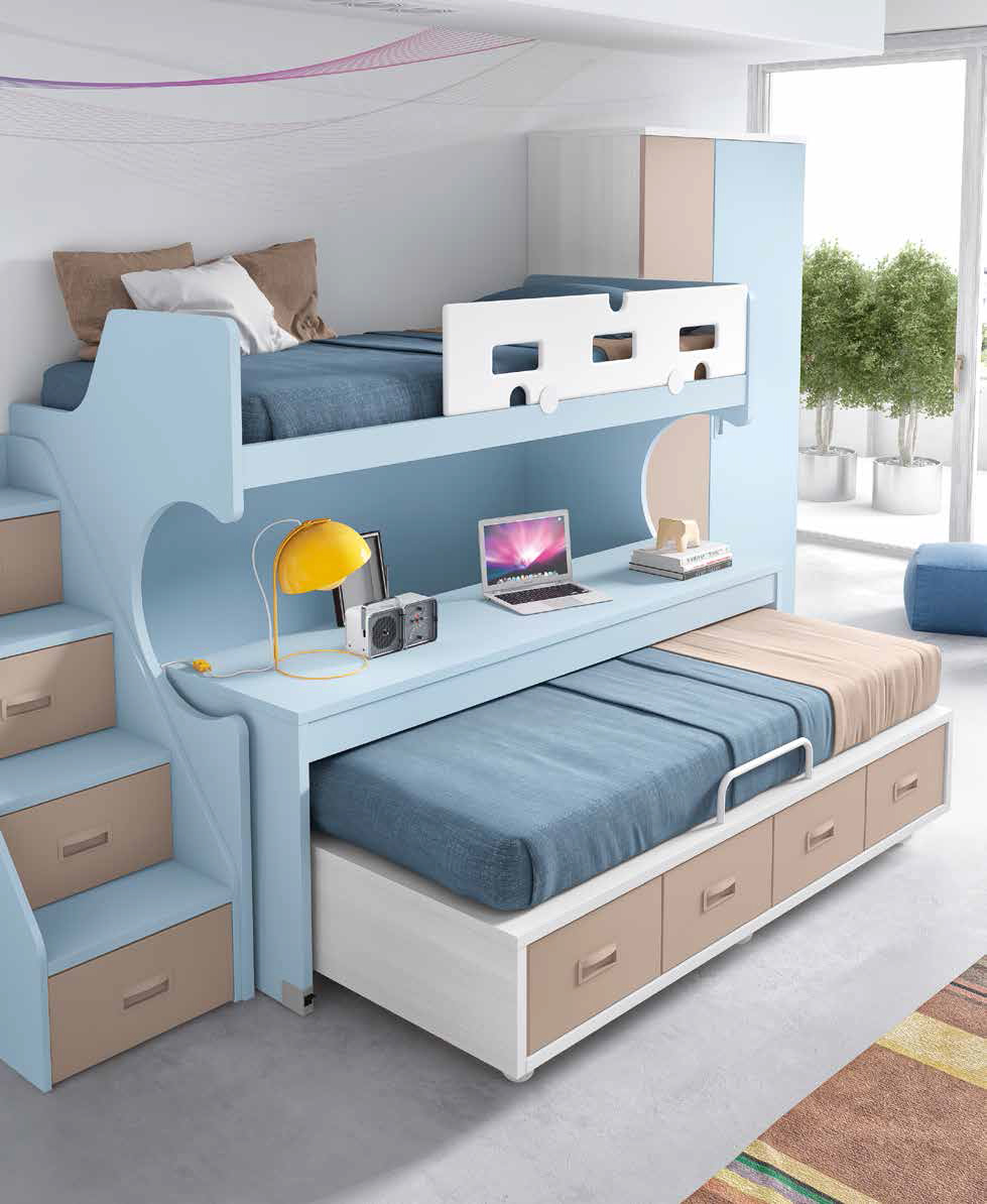 lits superpos s s parables solution id ale pour 2 enfants. Black Bedroom Furniture Sets. Home Design Ideas