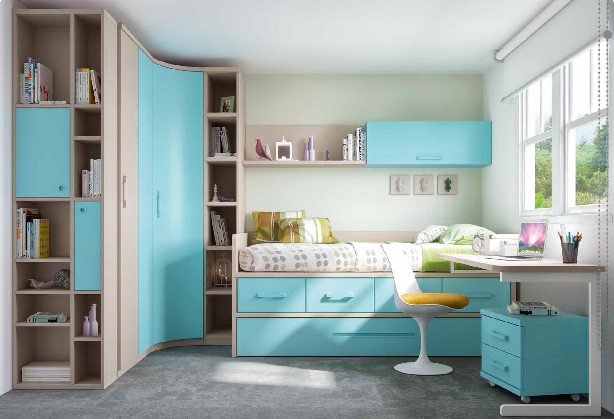 great comment amnager une petite chambre enfant astuces. Black Bedroom Furniture Sets. Home Design Ideas